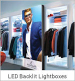 Image of a Backlit LED Graphic Display