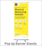 Image of a Pull Up Banner Stand