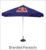 Image of a Branded Parasols