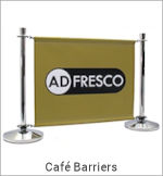 Image of a Café Barrier