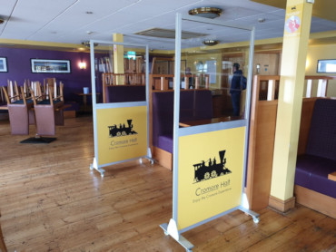 Image of a Covid-19 Protective Screens & Dividers from Creo Ireland
