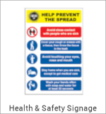 Image of a General Health & Safety Sign
