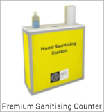 Image of a Premium Sanitising Counter