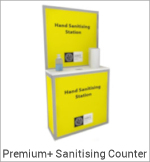 Image of a Premium Plus Sanitising Counter