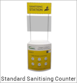 Image of a Standard Sanitising Counter