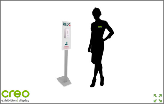 Image of Covid-19 Automatic Hand Sanitiser Dispenser from Creo Ireland