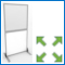 Image of a Freestanding Screen Divider from Creo Ireland