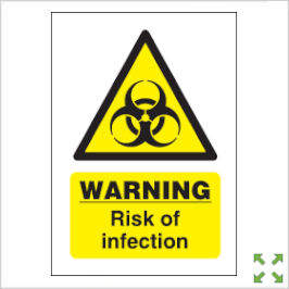 Image of a General Health and Safety Signage Advice Poster from Creo Ireland