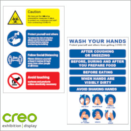 Image of General Health & Safety Poster and Signs from Creo Ireland