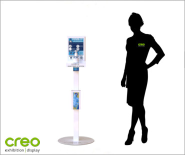 Image of a Schools/Childcare Freestanding Standard Sanitizer Station from Creo Ireland