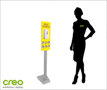 Image of a Covid-19 Automatic Hand Sanitiser Dispenser from Creo Ireland