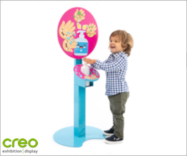 Image of a Schools/Childcare Adjustable Height Sanitising Units from Creo Ireland
