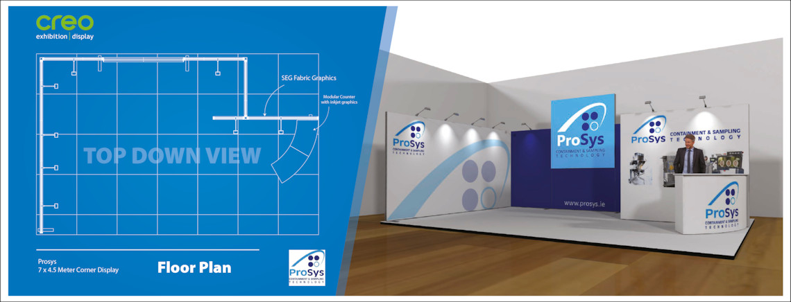 Exhibition Design Floorplan