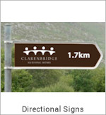 Image of a Directional Sign