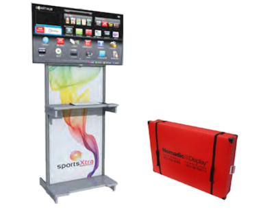 Image of a CDL012 Screen Kiosk and Flexcounter Case