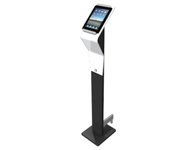 Image of a Free-Standing iPad Display