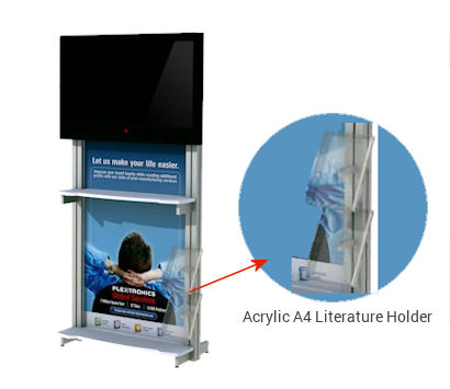 Image of Audio Visual Plasma Mount