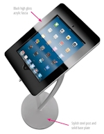 iPad DisplayCurve stand