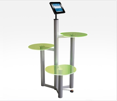 Image of an iPad POS Display Stand