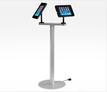 Image of an iPad Duo Display Stand