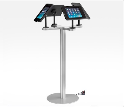 Image of an iPad Quad Display Stand