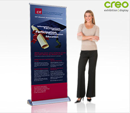 Image of a Smart Pop Up Banner Stand