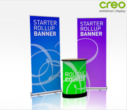 Rollone Combo Kit Stand Image from Creo Ireland