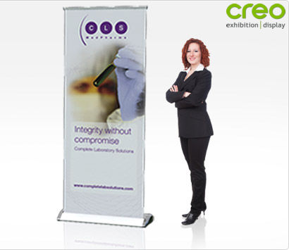 Smart Pop-up Banner Stand
