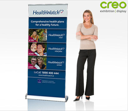 Smart Popup Banner Stand