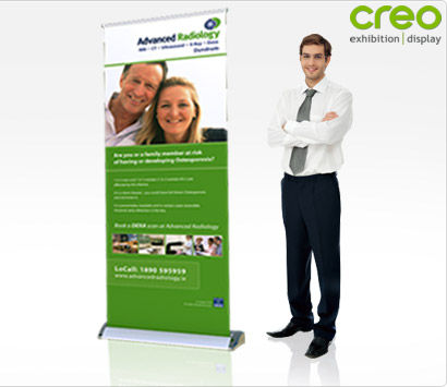 Smart Retractable Banner Stand