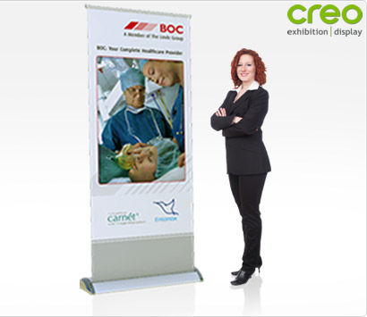 Smart Roll It Banner Stand
