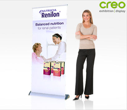 Smart Roll Up Display