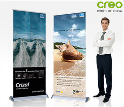 Smart Rollup Banner Stand