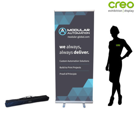 Image of a Starter Pull Up Banner Stand