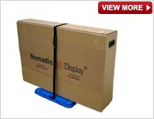 Nomadic Delux Shipper Carton and Trolley