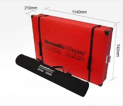 Image of Nomadic Display Flexcounter Case with Graphic bag