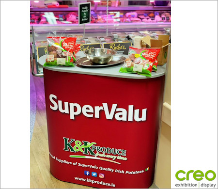 Image of an Nomadic Portable Counter REC900 Super Valu from Creo Ireland