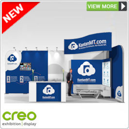 Custom Build Exhibition Stands from Creo Ireland