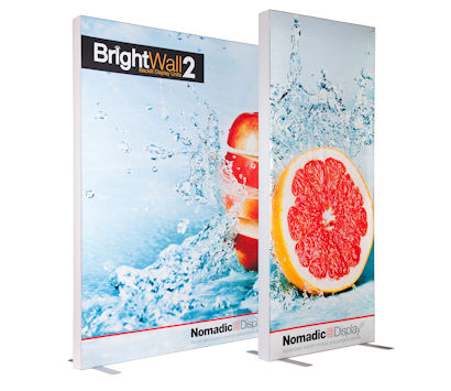 Image of 2.5m & 1m BrightWall Backlit Display