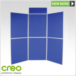 Fabric Panel Display Stands from Creo Ireland