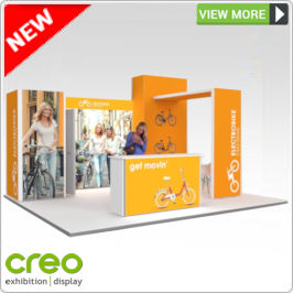 Backlit Exhibition Stand from Creo Ireland