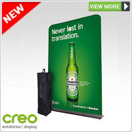 Fabric Popup Display Stands from Creo Ireland