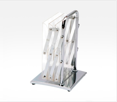 Image of a Collapsed Fold Up Stand