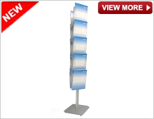A4 Floor Standing Brochure Holder