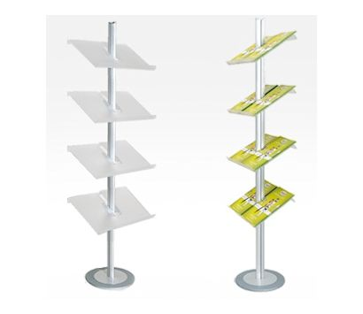 Image of a Palo A4 Floor Standing Brochure Holder