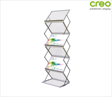 Image of a Prestige Literature Fold Up Stand
