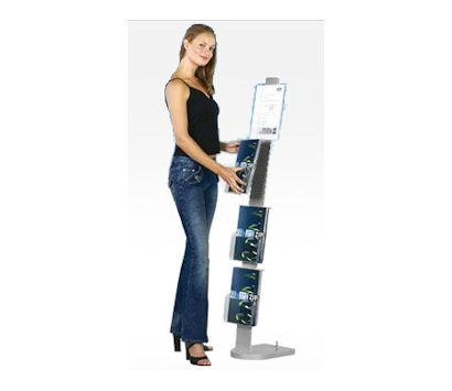 Image of a Showroom Brochure Holder