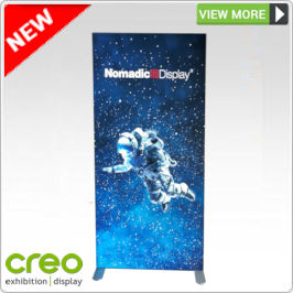 Backlit Fabric Display Stand from Creo Ireland