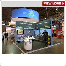 Overhead Display Systems from Creo Ireland - Be visible on the Exhibition Floor