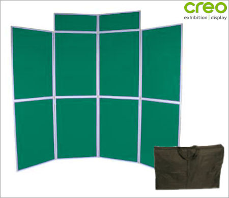Image of an 8 Panel - Folding Fabric Panel Kit With Header